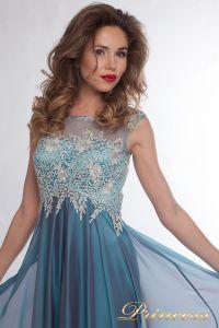 Вечернее платье 4675 blue small. Цвет синий. Вид 2