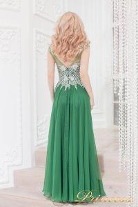 Вечернее платье 4675 green. Цвет зеленый. Вид 3