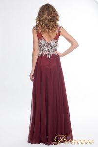 Вечернее платье 4675 marsala small. Цвет красный. Вид 3