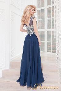 Вечернее платье 4675 navy. Цвет синий. Вид 4