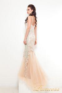 Вечернее платье 5039. Цвет шампань. Вид 2
