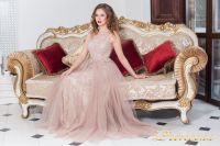 Вечернее платье 5133 PINK. Цвет розовый. Вид 2