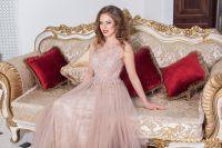 Вечернее платье 5133 PINK. Цвет розовый. Вид 3