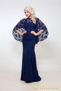 Вечернее платье 5151. Цвет синий. Вид 1