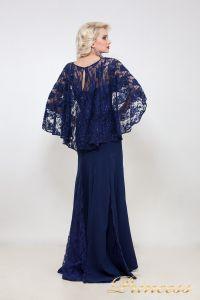 Вечернее платье 5151. Цвет синий. Вид 2