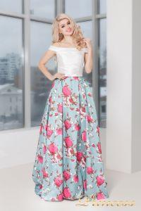 Вечернее платье 5500. Цвет мятный. Вид 2