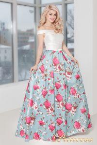 Вечернее платье 5500. Цвет мятный. Вид 1