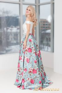 Вечернее платье 5500. Цвет мятный. Вид 3
