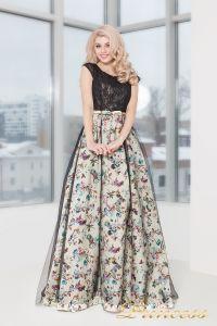 Вечернее платье 5510. Цвет чёрный. Вид 2