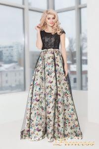 Вечернее платье 5510. Цвет чёрный. Вид 1