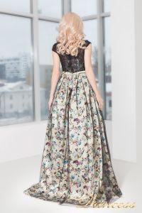 Вечернее платье 5510. Цвет чёрный. Вид 3