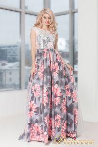 Вечернее платье 5520. Цвет розовый. Вид 2