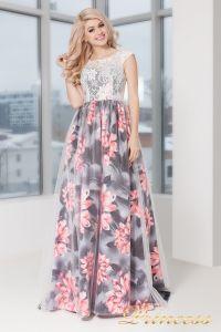 Вечернее платье 5520. Цвет розовый. Вид 1