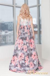 Вечернее платье 5520. Цвет розовый. Вид 3