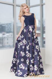 Вечернее платье 5530. Цвет фиолетовый. Вид 2