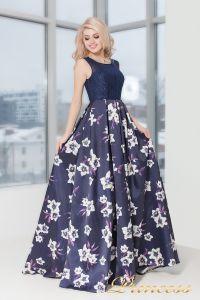 Вечернее платье 5530. Цвет фиолетовый. Вид 3