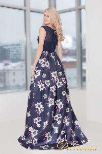 Вечернее платье 5530. Цвет фиолетовый. Вид 4