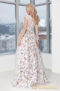 Вечернее платье 5550. Цвет цветочное. Вид 3
