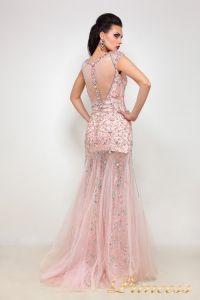 Вечернее платье 614047. Цвет розовый. Вид 3