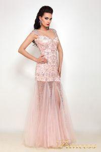 Вечернее платье 614047. Цвет розовый. Вид 2