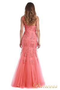 Вечернее платье 6010C. Цвет цветочное. Вид 5