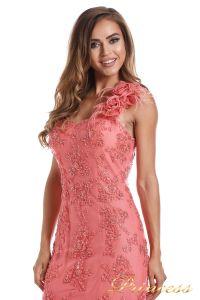 Вечернее платье 6010C. Цвет цветочное. Вид 4