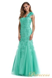 Вечернее платье 6010G. Цвет цветное . Вид 4