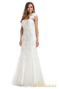 Свадебное платье 6010W. Цвет белый. Вид 3
