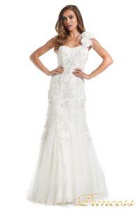Свадебное платье 6010W. Цвет белый. Вид 4