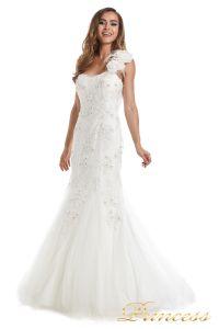 Свадебное платье 6010W. Цвет белый. Вид 1