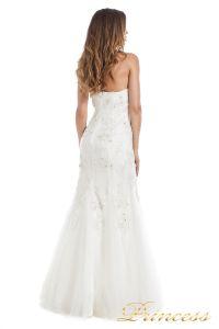 Свадебное платье 6010W. Цвет белый. Вид 5