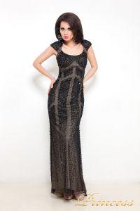 Вечернее платье 614. Цвет чёрный. Вид 2
