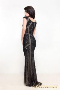 Вечернее платье 614. Цвет чёрный. Вид 3