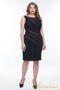 Вечернее платье 6284S_black. Цвет чёрный. Вид 1