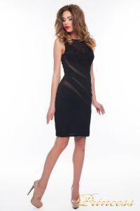 Коктейльное платье 6284_black. Цвет чёрный. Вид 2