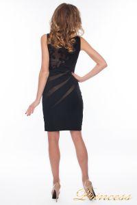 Коктейльное платье 6284_black. Цвет чёрный. Вид 3