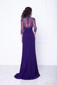 Вечернее платье 68070. Цвет фиолетовый. Вид 2
