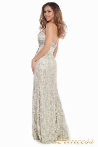 Вечернее платье 702. Цвет серый. Вид 4