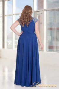 Вечернее платье 709 Royal. Цвет электрик . Вид 5