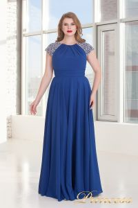Вечернее платье 709 Royal. Цвет электрик . Вид 6