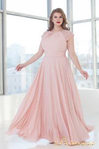 Вечернее платье 709 pink. Цвет розовый. Вид 3