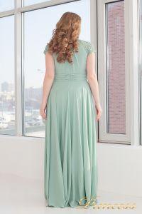Вечернее платье 709 G. Цвет салатовый. Вид 2