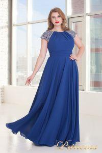 Вечернее платье 709 Royal. Цвет электрик . Вид 2