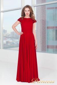 Вечернее платье 709_red_small. Цвет красный. Вид 2