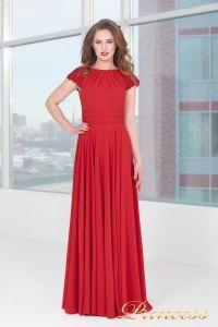 Вечернее платье 709_red_small. Цвет красный. Вид 5