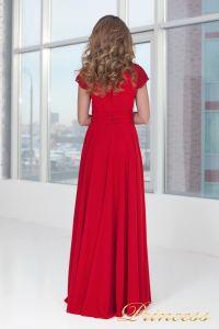 Вечернее платье 709_red_small. Цвет красный. Вид 4