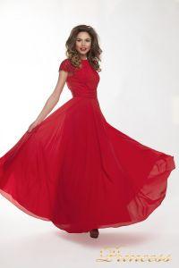 Вечернее платье 709_red_small. Цвет красный. Вид 3