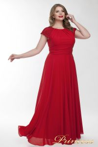 Вечернее платье 709_red . Цвет красный. Вид 3