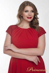 Вечернее платье 709_red . Цвет красный. Вид 4