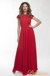 Вечернее платье 709_red_small. Цвет красный. Вид 1